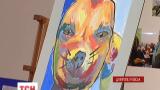В Днепропетровске устроили аукцион картин, которые написали бойцы АТО