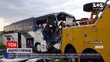 Новости мира: в Польше произошла авария с автобусом, который вез детей из летнего лагеря