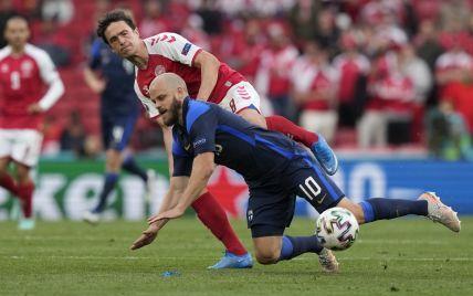 Сенсация на фоне трагедии: сборная Финляндии обыграла Данию в матче Евро-2020
