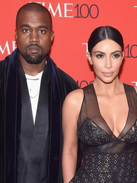 Ким Кардашьян и Канье Уэст / © Getty Images/Fotobank