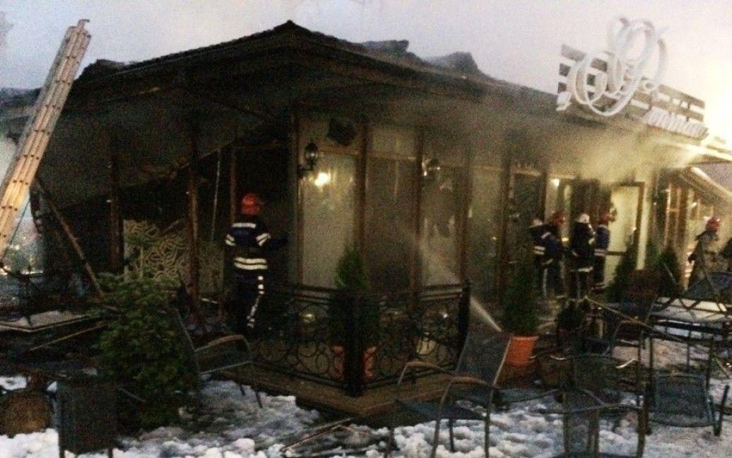 В Ізмаїлі вибухнув бар / © bessarabiainform.com