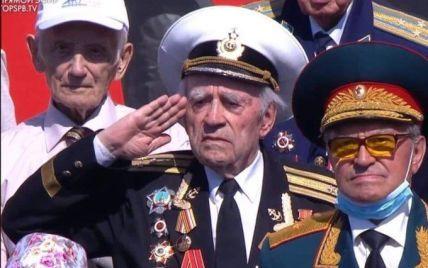 У Москві на парад до Дня перемоги прийшов ветеран із фейковим орденом