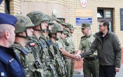 У Польщі можуть оголосити режим надзвичайного стану на кордоні із Білоруссю
