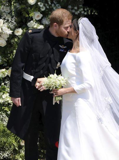 Свадьба Меган и Гарри - 19 мая 2018 года в Часовне святого Георгия в Виндзоре / © Associated Press
