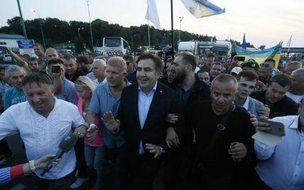 После прорыва границы Саакашвили отправился во Львов
