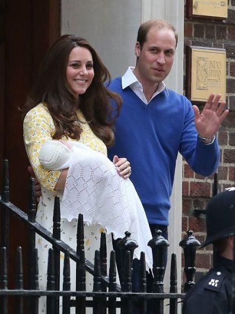 Кэтрин и Уильям с дочерью / © Getty Images