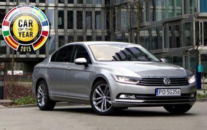 """Volkswagen Passat назван """" Автомобилем года-2015"""""""