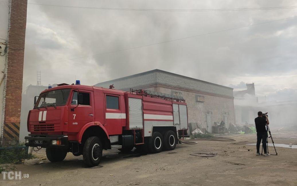 пожежа на Куренівці / © Фото Дмитра Святненка/ТСН