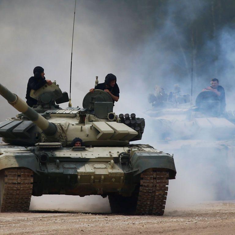 На Донбассе беспилотник ОБСЕ обнаружил 48 танков террористов