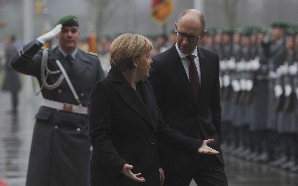 Яценюк прибув до Німеччини / © kmu.gov.ua