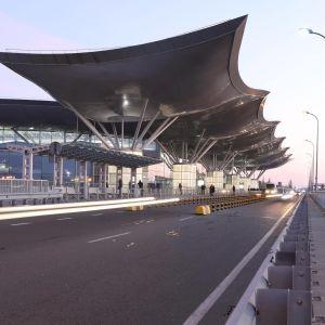 """В аеропорт """"Бориспіль"""" тимчасово перенесені рейси десяти авіакомпаній до терміналів D і F"""