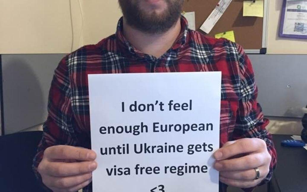 Учасники флемшобу на підтримку українців / © Facebook/George Marjanishvili