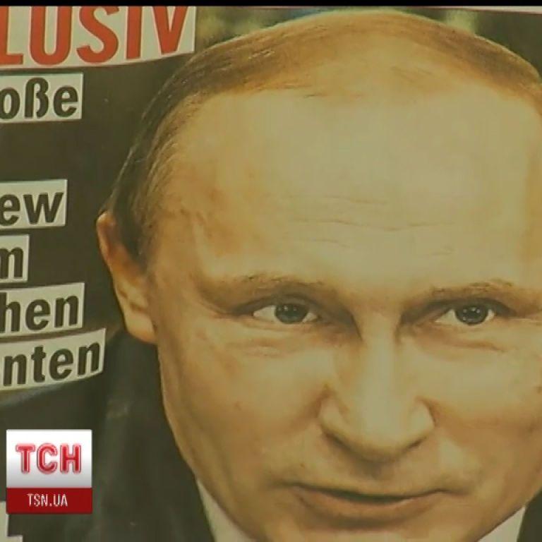 Немцы раскритиковали интервью Путина для газеты Bild
