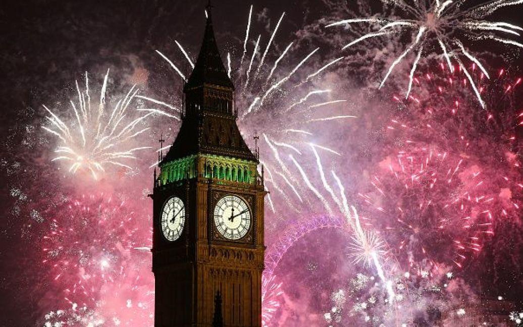 Святкування Нового року у Лондоні. / © Getty Images