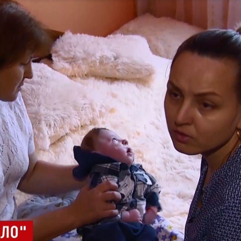 У Хмельницькому під час пологів лікарі скалічили дитину. Ексклюзив ТСН