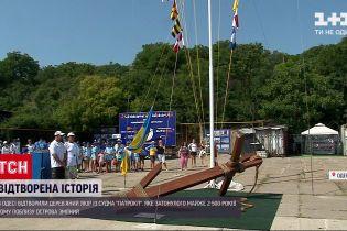 Новини України: в Одесі відкрили арт-об'єкт, присвячений хоробрості моряків вітрильного флоту