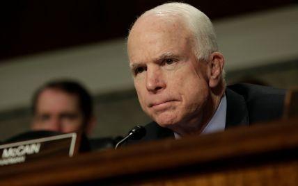 Маккейн рассказал о позитивных прогнозах лечения рака мозга