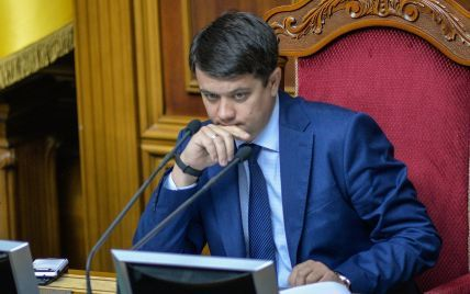 """""""50-100 тысяч за некоторые отставки"""": Разумков прокомментировал слухи о возможных взятках нардепам за их голоса"""