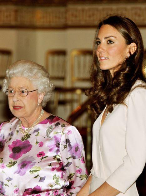 Герцогиня Кембриджская и королева Елизавета II / © Getty Images/Fotobank