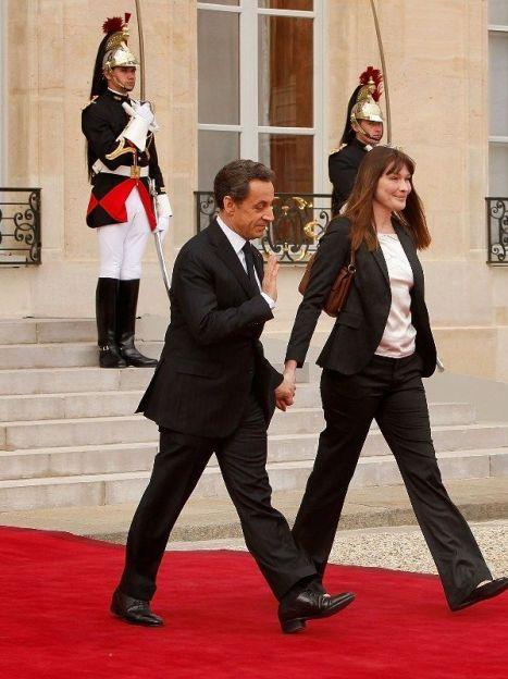 Николя Саркози и Карла Бруни / © Getty Images/Fotobank
