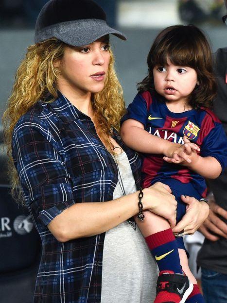 Шакира с сыном Миланом / © Getty Images/Fotobank