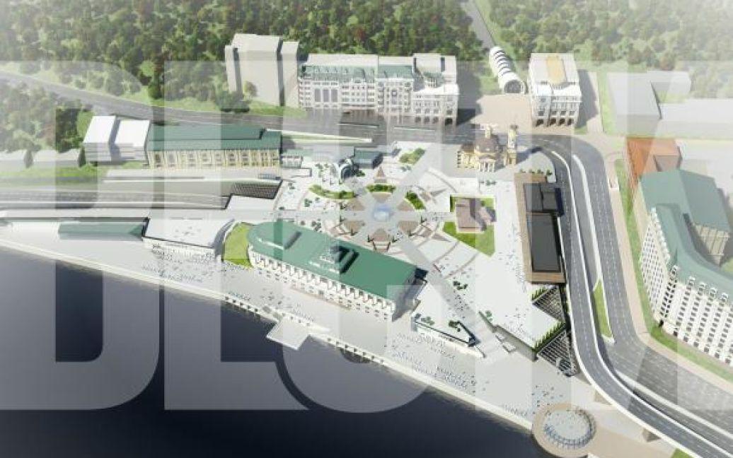 На Подолі почали будувати торговий центр / © Проект Андрія МиргородськогоВести