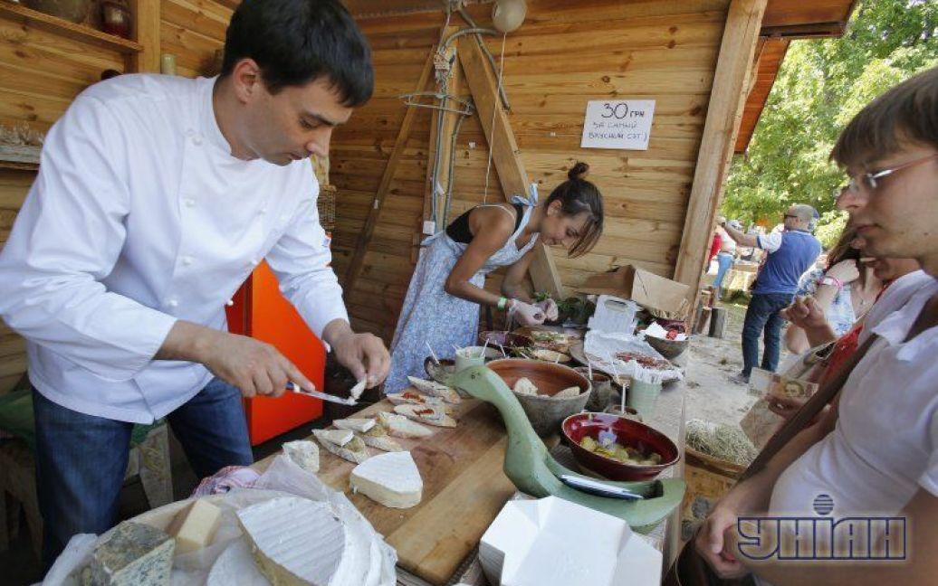 У Києві пройшов фестиваль вуличної їжі / © УНІАН