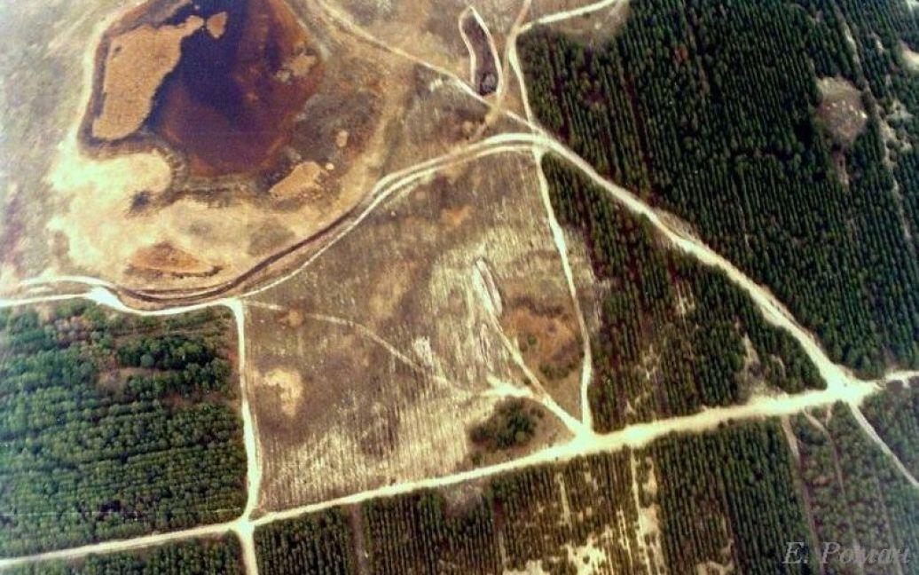 Вид Олешковских песков с высоты птичьего полета / © oleshki.jimdo.com