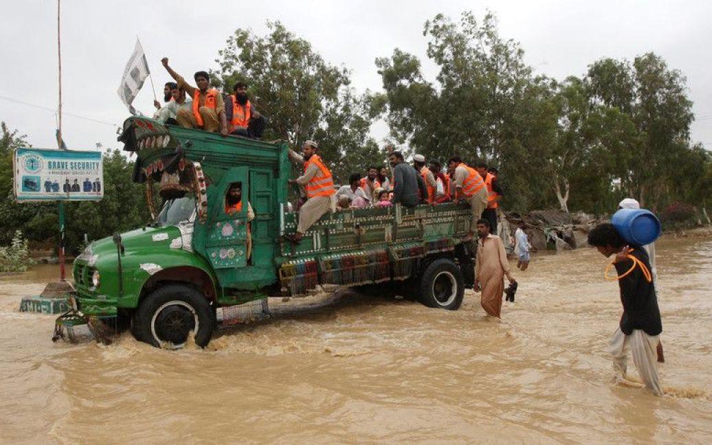 Повінь у Пакистані / © Фото EPA/UPG