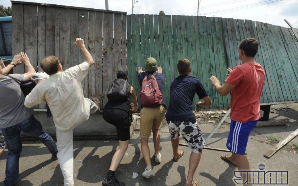 Кияни бунтують проти забудови / © УНІАН