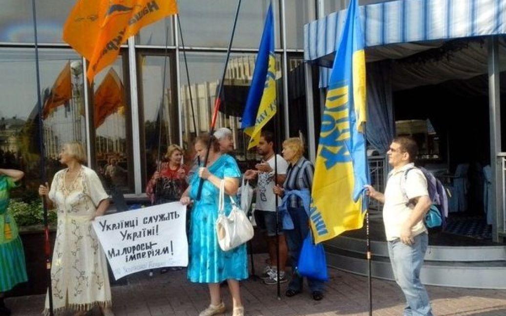 У Києві зібралися політичні активісти і віруючі / © Сегодня