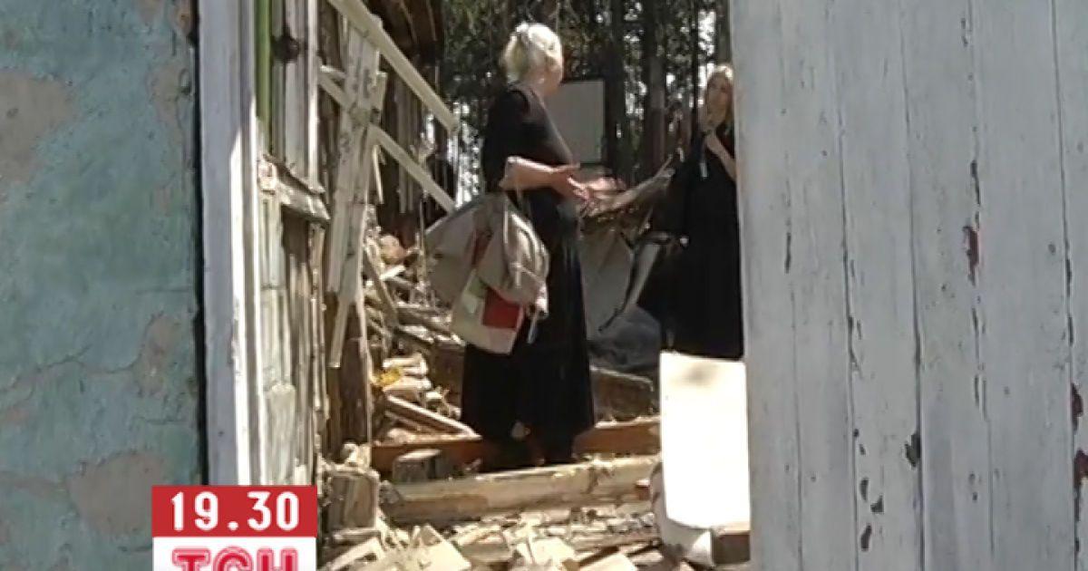 Будинок Ніни Москаленко знищений / ©