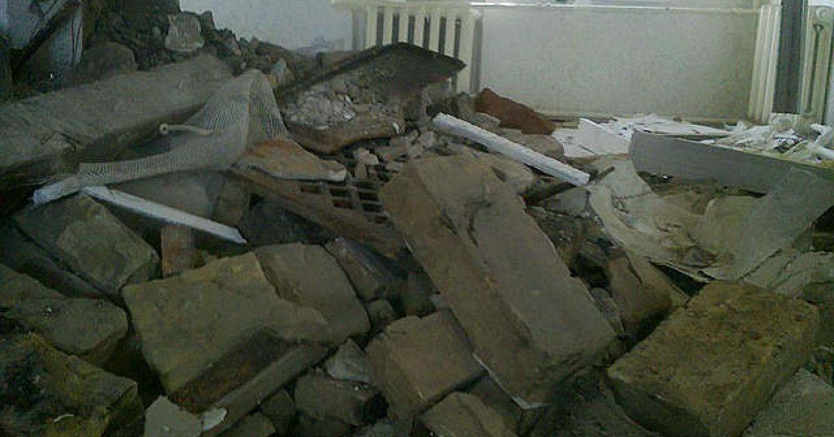 Будинок Ніни Москаленко знищений / © Новый Регион