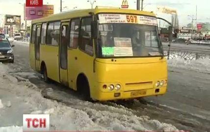 У київських маршрутках знову підвищили ціни на проїзд