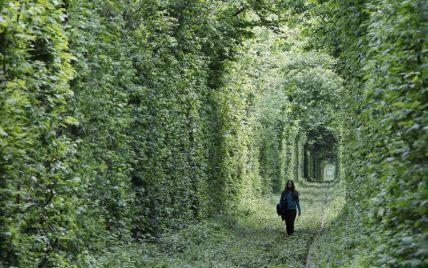 Тоннель любви – самое романтическое место Украины