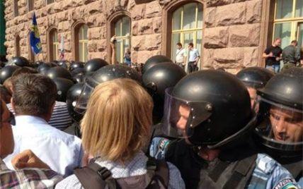 Столична міліція не побачила під Київрадою жодної бійки