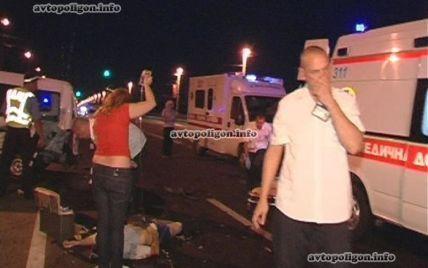 У Києві на мосту Патона міліціонер на іномарці збив лікаря, який допомагав жертві ДТП - ЗМІ