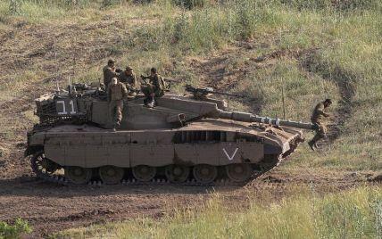 Израильский танк случайно открыл огонь по территории сектора Газа: подробности