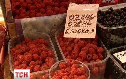 Українців лякають замороженою малиною із небезпечним вірусом