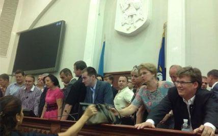 Після наради з опозицією Герега розпустила Київраду на канікули