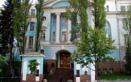 У центрі Києва палає музей з останками древніх людей і тварин