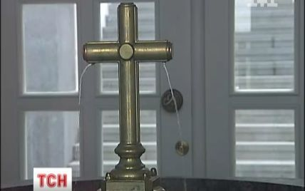 У Києві показали пам'ятник Магдебурзькому праву за 10 млн грн