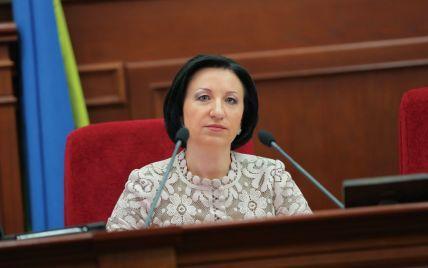 Герега заявила у прокуратуру про зрив засідання Київради