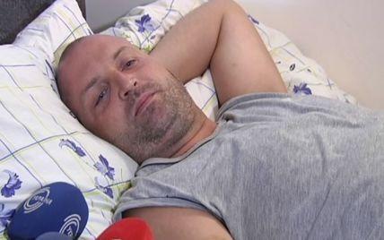 Беркутівець під крапельницею розповів, як під час штурму Київради його побили спортсмени