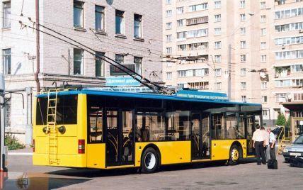 У Києві маршрут тролейбусу № 43 скоротили до Либідської площі