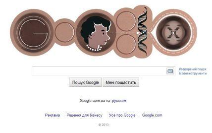 Google обзавівся спіраллю ДНК в честь дня народження Розалінд Франклін