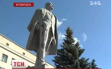 В Новоград-Волинську мають вперше в Україні легально знести пам'ятник Леніну