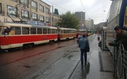 В Киеве трамвайные пути заменят на бесшумные