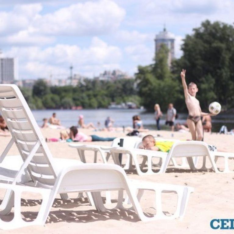 Кличко рассказал, сколько пляжей Киева готовы принимать посетителей