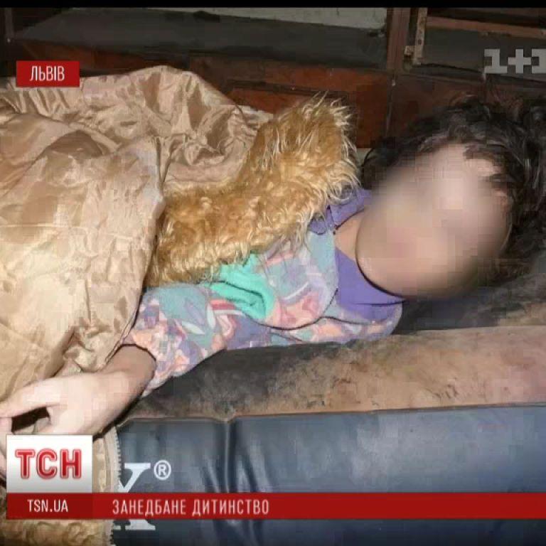 Львівські діти-мауглі не вміють розмовляти, ходити та самостійно їсти